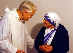 マザー・テレサとブラザー・ロジェ